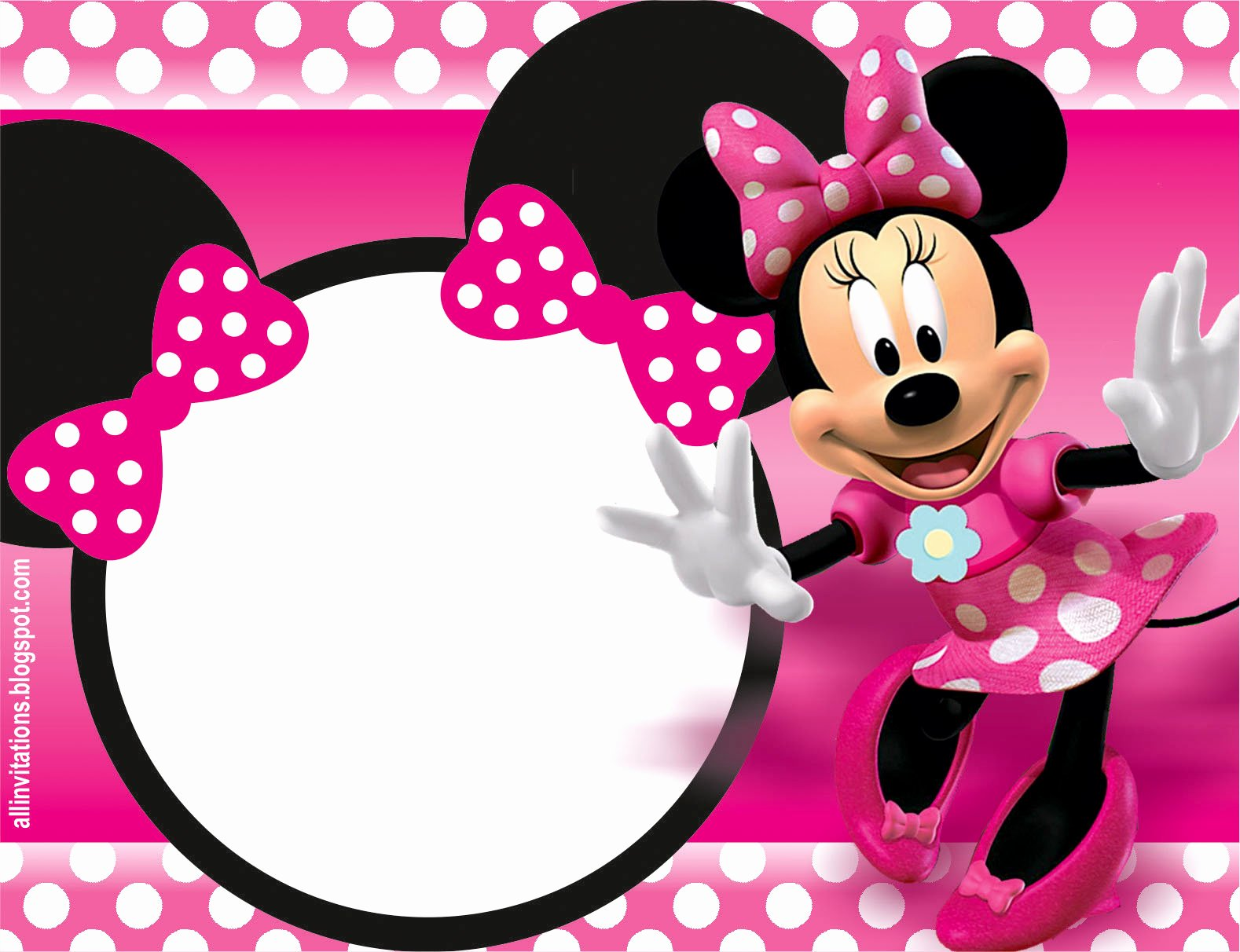Free Minnie Mouse Invitations Personalized Luxury 32 Superb Minnie Mouse Birthday Invitations