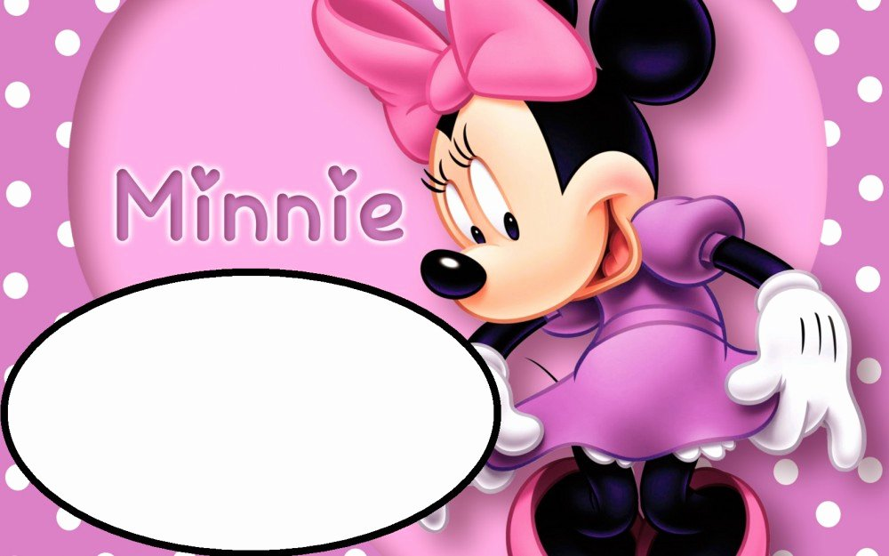 Free Minnie Mouse Templates Beautiful Minnie Mouse Free Printable Invitation Templates