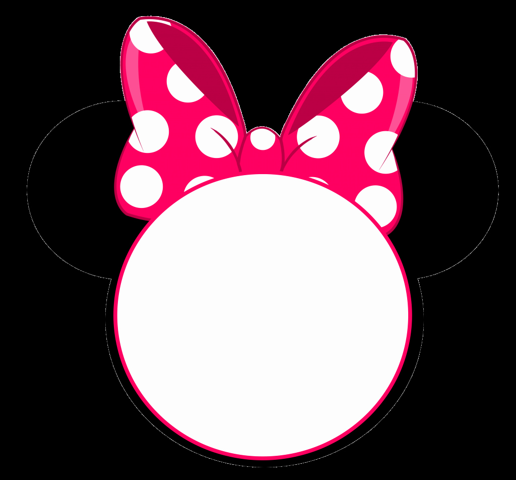 Free Minnie Mouse Templates Lovely Free Minnie Mouse Head Invitation Template Free