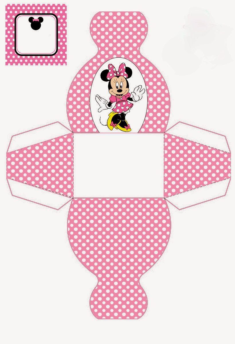 Free Minnie Mouse Templates Unique Minnie Mouse Free Printable Dress Shaped Boxes