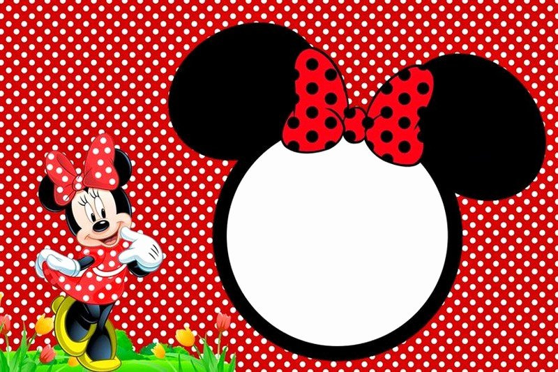 Free Minnie Mouse Templates Unique Minnie Mouse Free Printable Invitation Templates