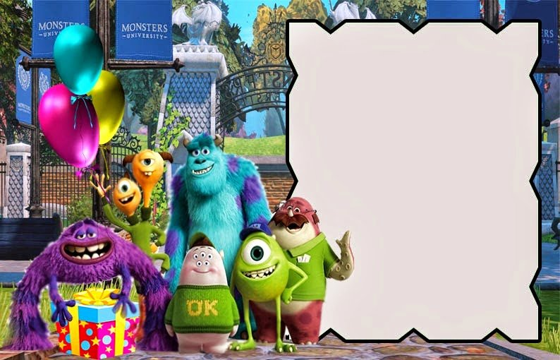 Free Monsters Inc Invitation Template Lovely Free Printable Monsters University Invitations Oh My