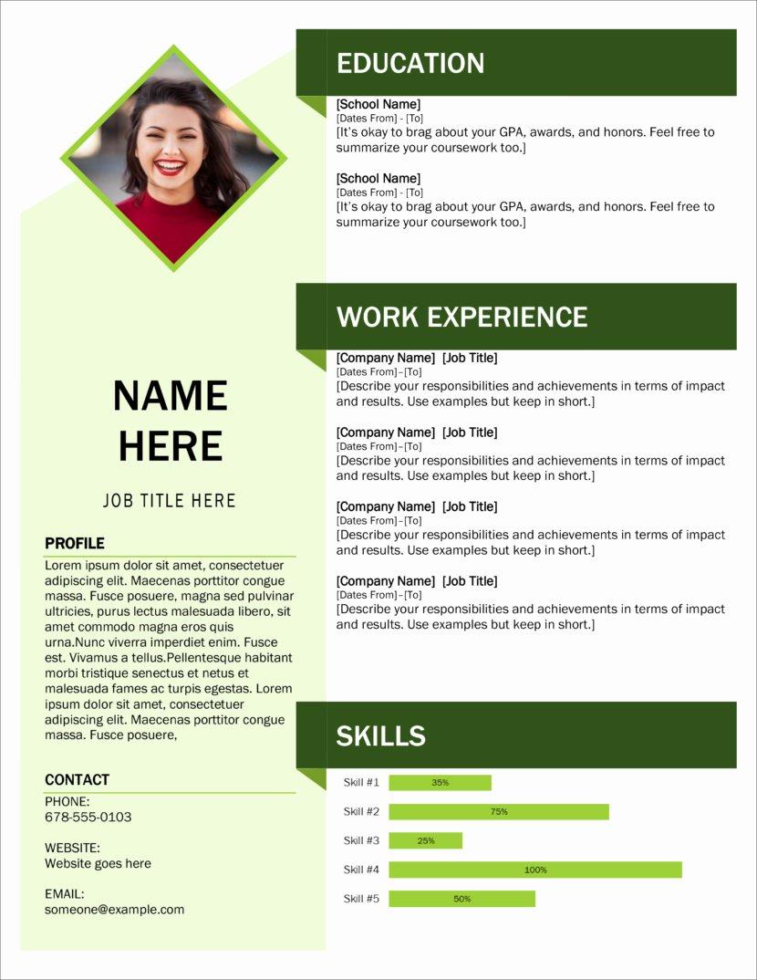 Free Ms Office Resume Templates Elegant 45 Free Modern Resume Cv Templates Minimalist Simple