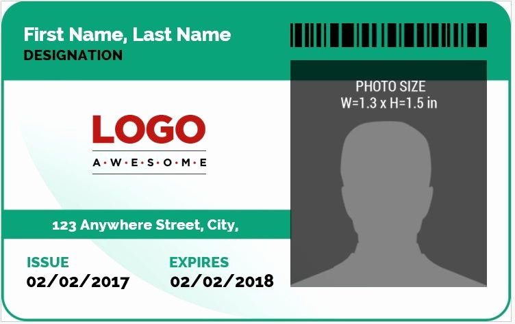 Free Name Tag Template Word Awesome Ms Word Id Badge Sample Template