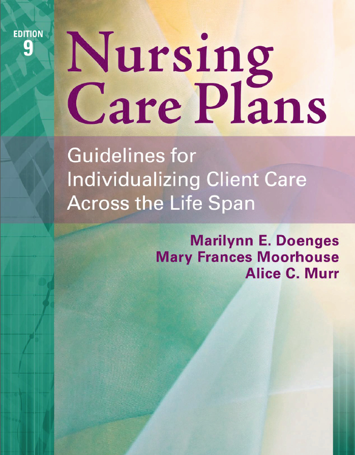 Free Nursing Care Plans Unique Nursing Care Plans 9th Edition Pdf Free Download