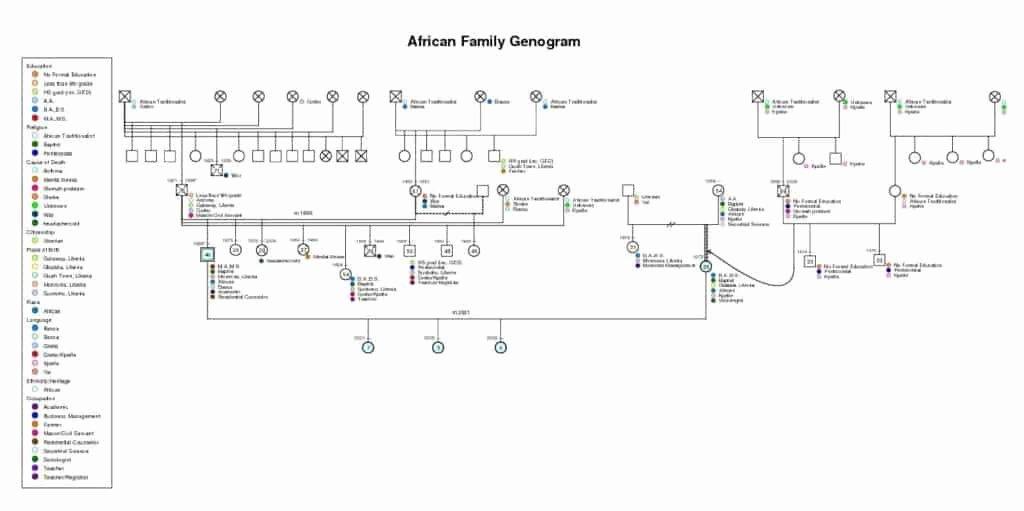 Free Online Genogram Creator Lovely 8 Free Genogram Templates Word Excel Pdf formats