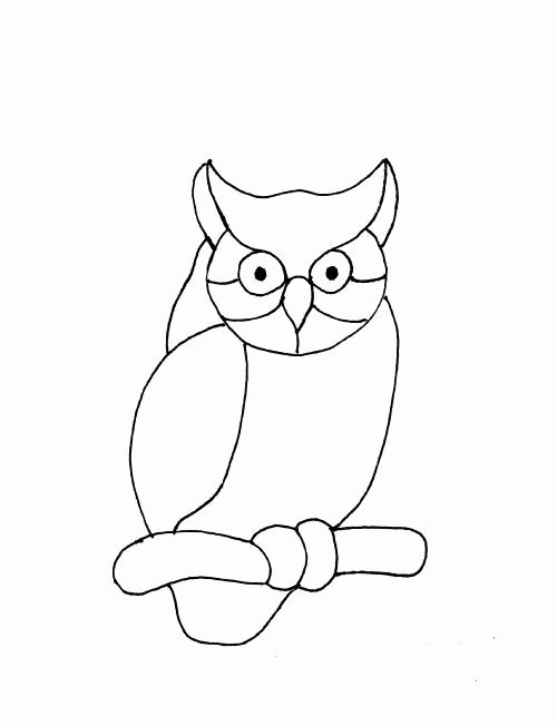 Free Owl Printable Template Beautiful Owl Pattern Free Stained Glass Patterns