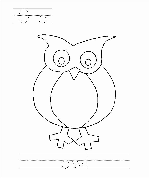 Free Owl Printable Template Best Of Owl Template Animal Templates