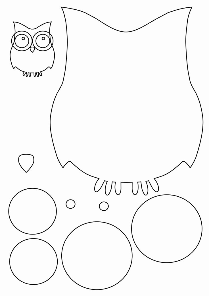 Free Owl Printable Template Lovely Best 25 Owl Templates Ideas On Pinterest