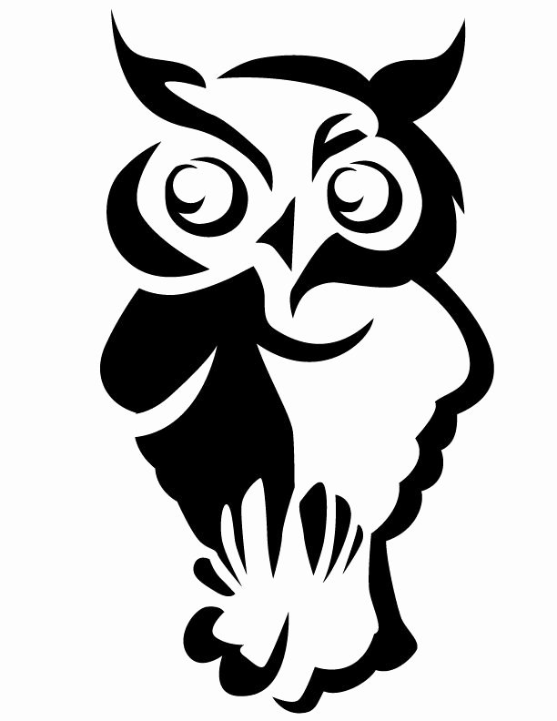 Free Owl Printable Template Luxury Owl Stencil Owl Free Printable Coloring Pages Part Of