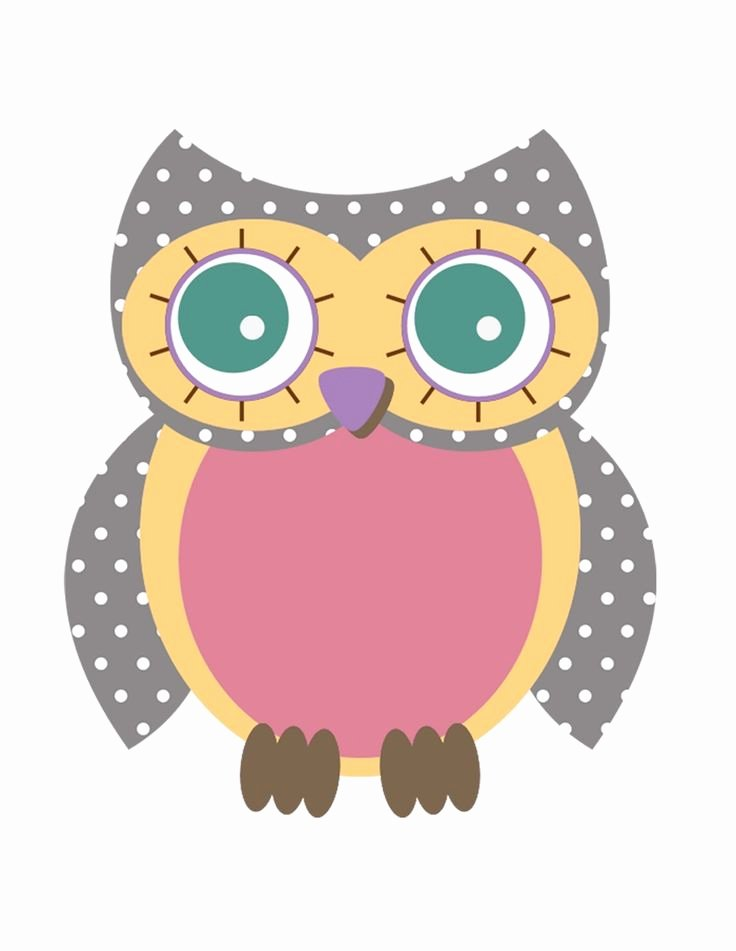 Free Owl Printable Template Unique Best 25 Owl Shower Ideas On Pinterest