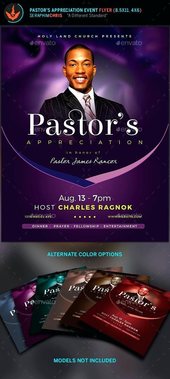 Free Pastor Anniversary Program Templates Elegant Free Pastor Anniversary Program Templates – Church