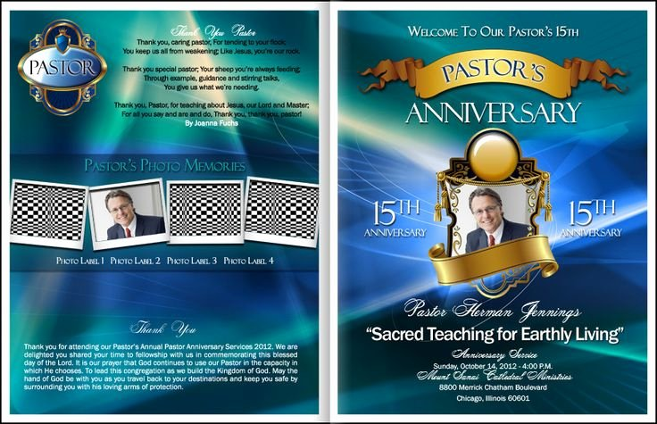 Free Pastor Anniversary Program Templates Inspirational Loyalty Pastor Anniversary Program Kingdomprograms
