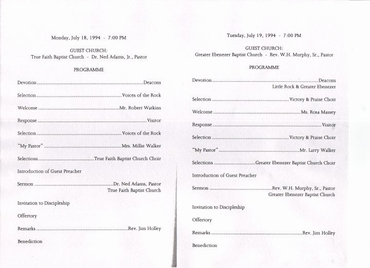 Free Pastor Anniversary Program Templates Lovely Church Anniversary Program Outline to Pin On