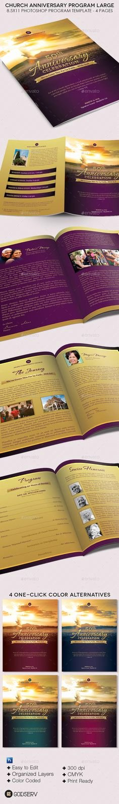 Free Pastor Anniversary Program Templates Lovely Free Printable Church Program Template