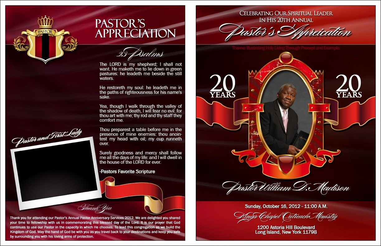 Free Pastor Anniversary Program Templates Unique Pin by aresia Williams On aresia Williams