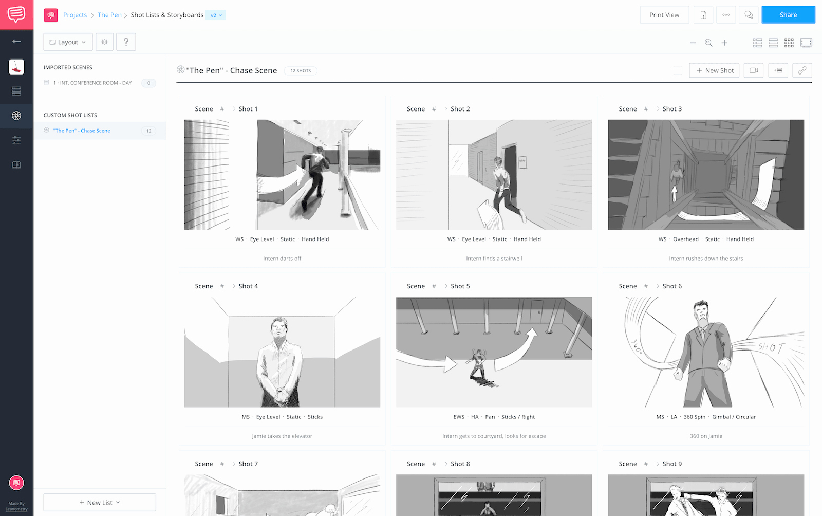Free Photoshop Storyboard Templates Awesome 60 Free Storyboard Templates & Creator Pdf Psd Ppt Docx