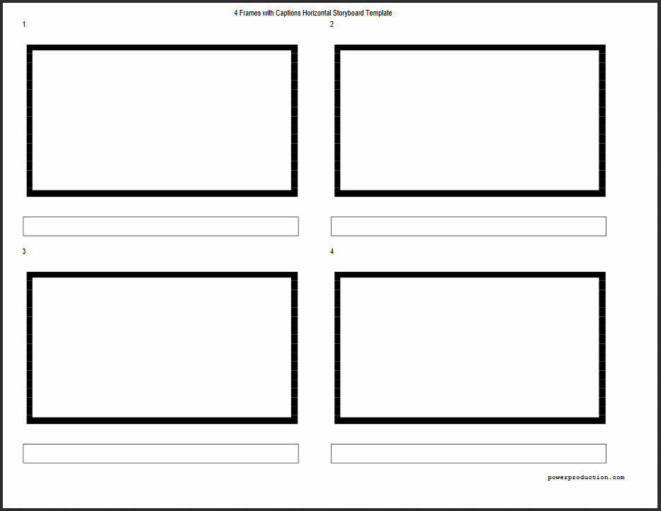 Free Photoshop Storyboard Templates Awesome Storyboard Templates