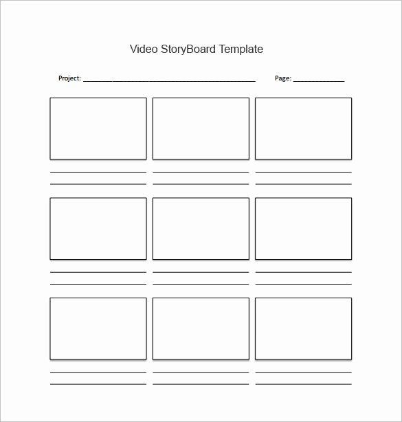 Free Photoshop Storyboard Templates Beautiful 82 Storyboard Templates Pdf Ppt Doc Psd