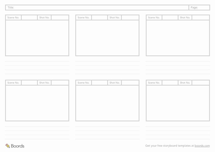 Free Photoshop Storyboard Templates Elegant 40 Free Storyboard Templates Pdf Psd Word & Ppt