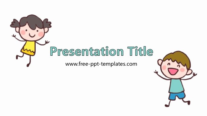 Free Powerpoint Templates for Kids Awesome Child Powerpoint Template