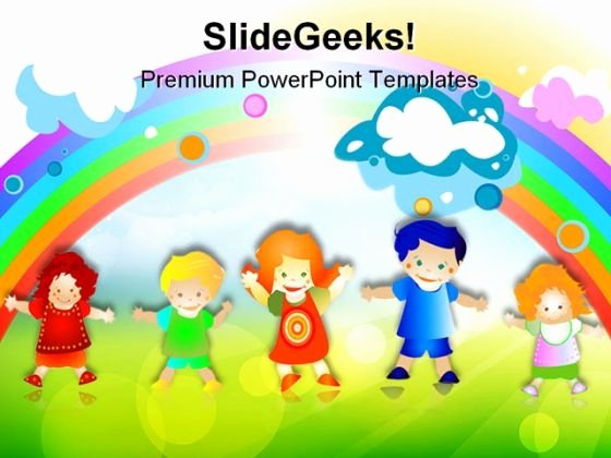 Free Powerpoint Templates for Kids Beautiful Free Powerpoint Templates for Children