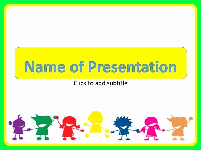Free Powerpoint Templates for Kids Best Of Happy Children Powerpoint Templates Free