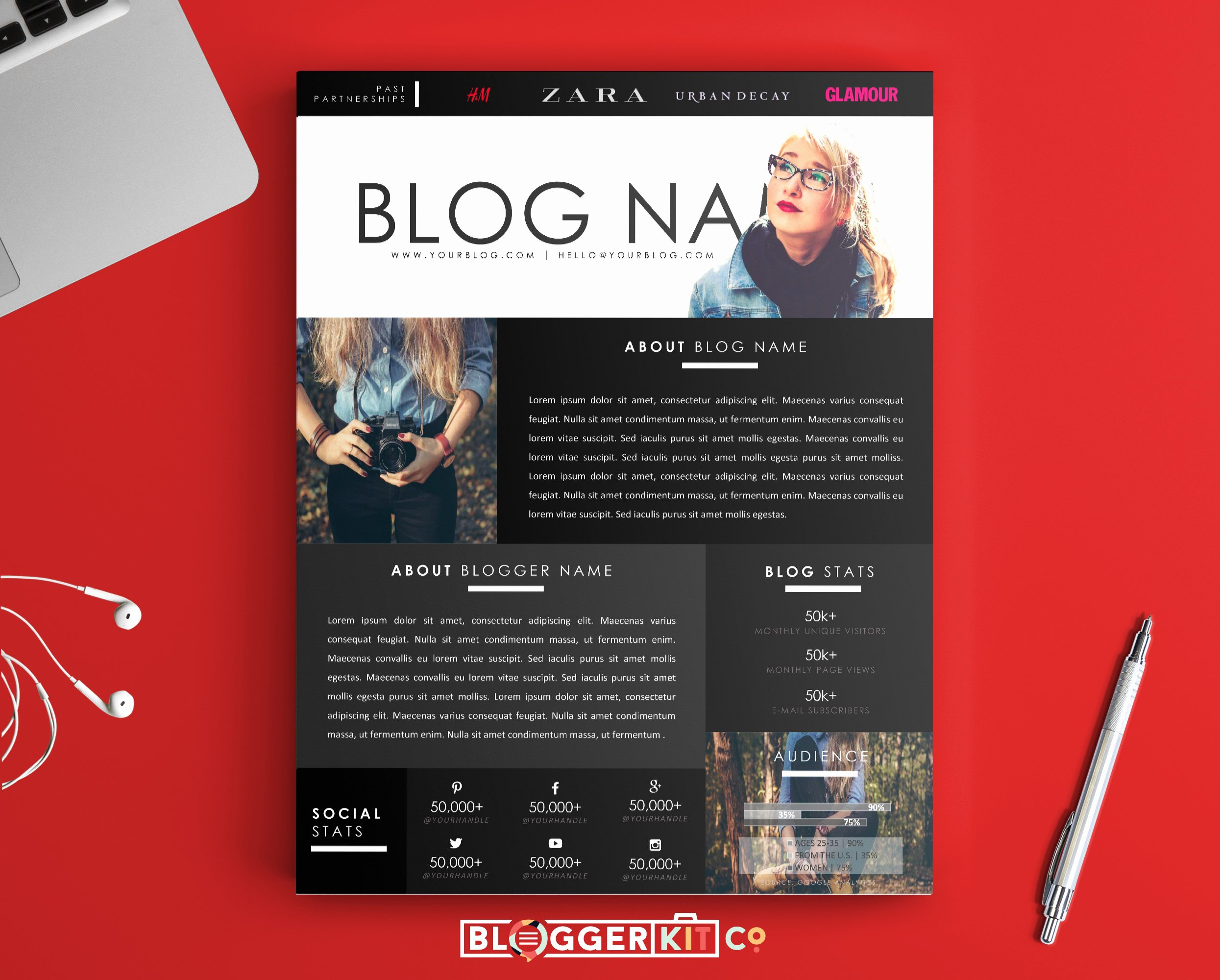 Free Press Kit Template Best Of the Dreamer Media Kit Template