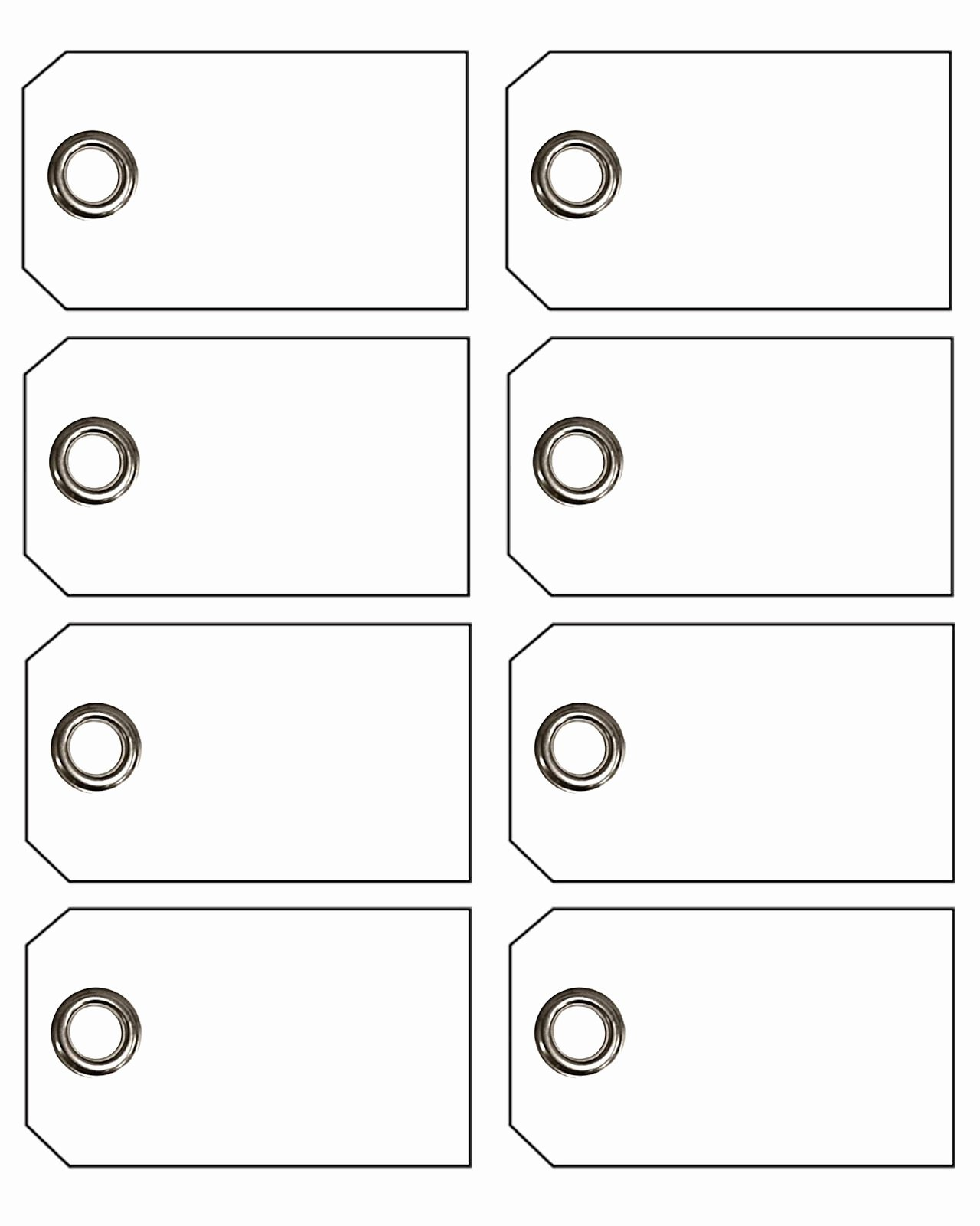 Free Price Tag Template Elegant Blank Price Tags Printable Gift Tags with Eyelets S3rfbuxr
