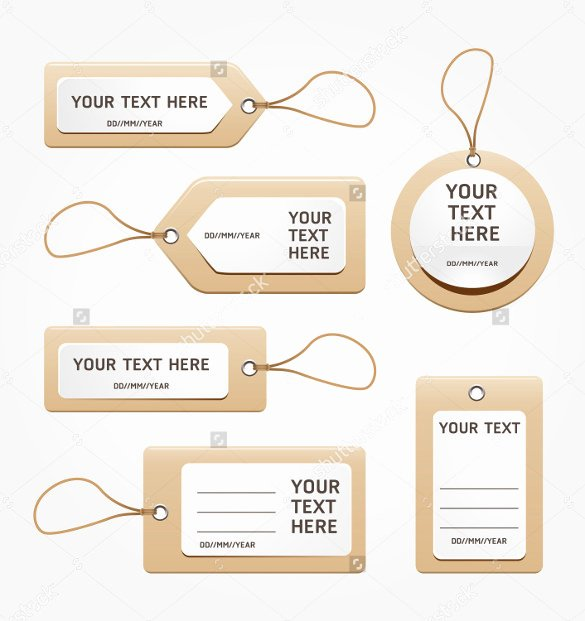 Free Price Tag Template Luxury 26 Favor Tag Templates – Free Sample Example format