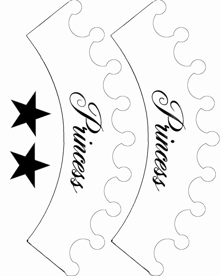 Free Princess Crown Template Printable Elegant 17 Best Ideas About Crown Template On Pinterest