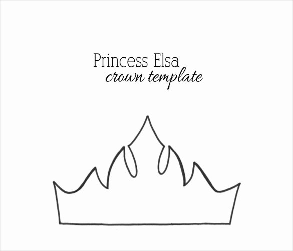 Free Princess Crown Template Printable Fresh 21 Paper Crown Templates Pdf Doc