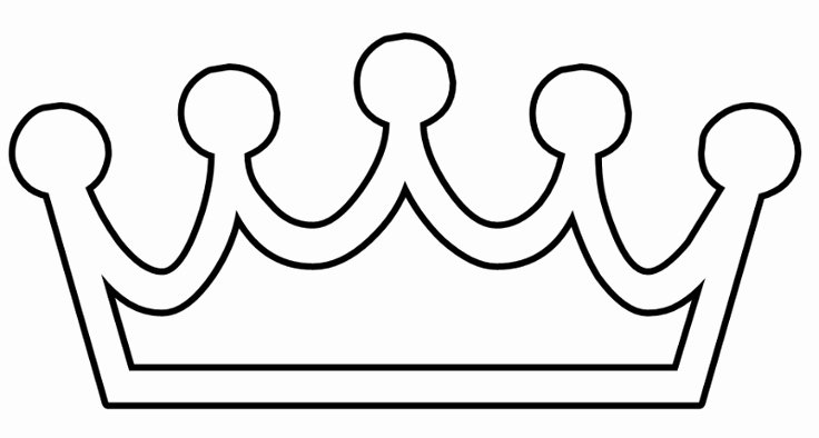 Free Princess Crown Template Printable Inspirational Crown Template Princess Clipart Best