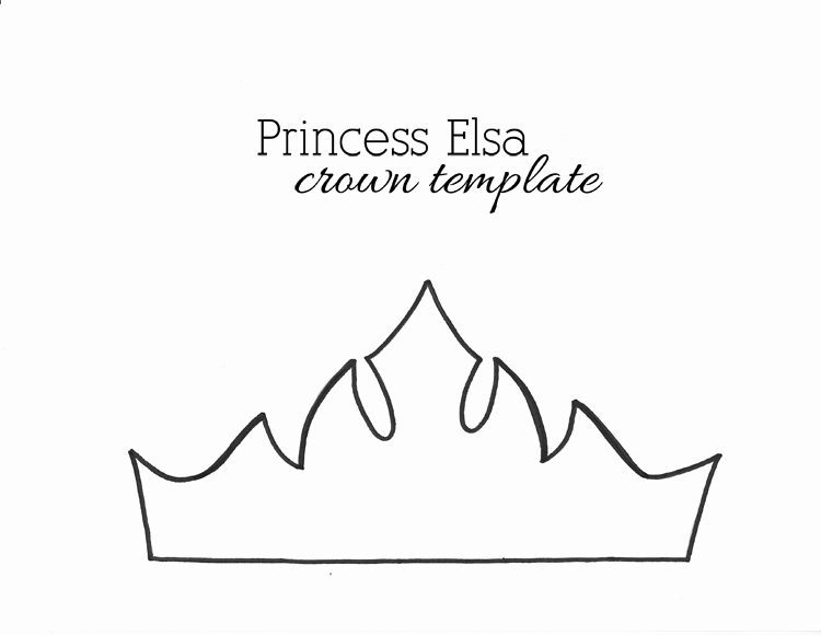 Free Princess Crown Template Printable Inspirational Paper Crown Templates for Prince Princes Print & Cut at