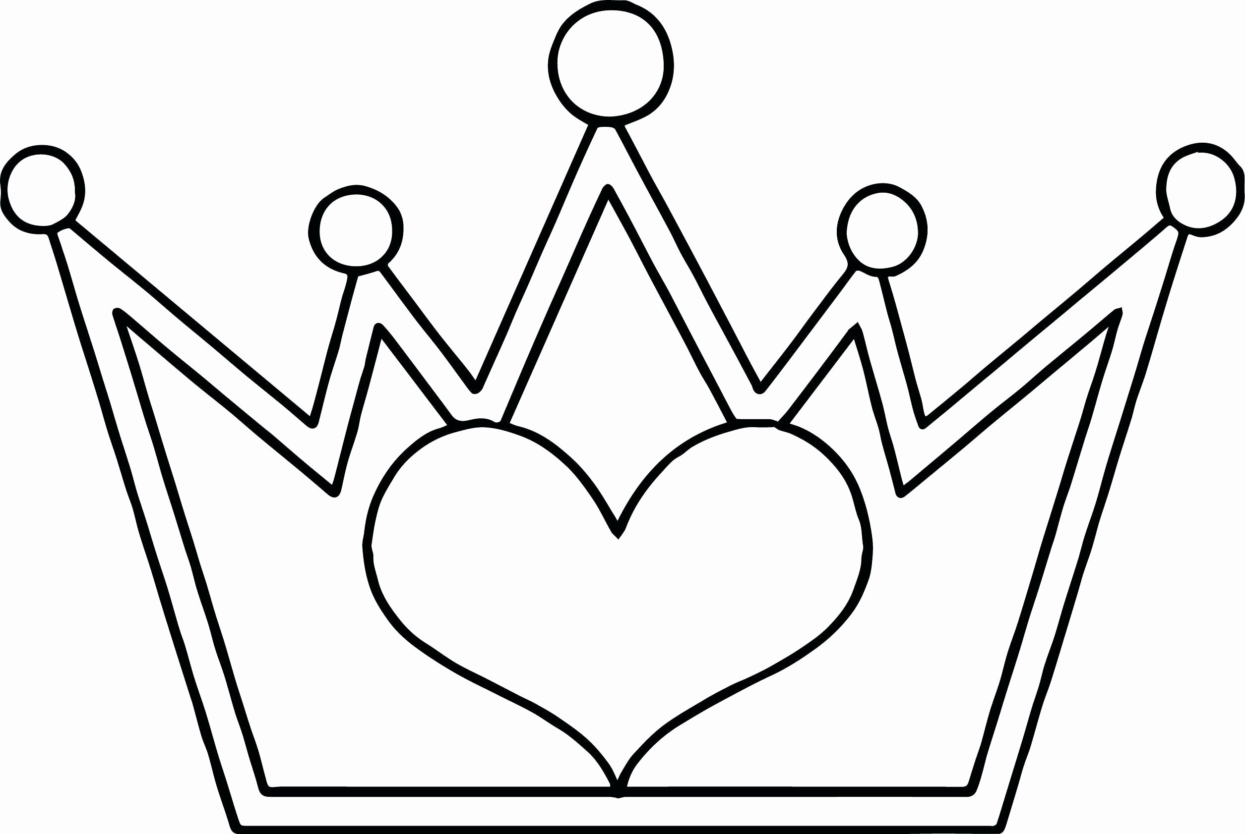Free Princess Crown Template Printable New Crown Drawing Template at Getdrawings