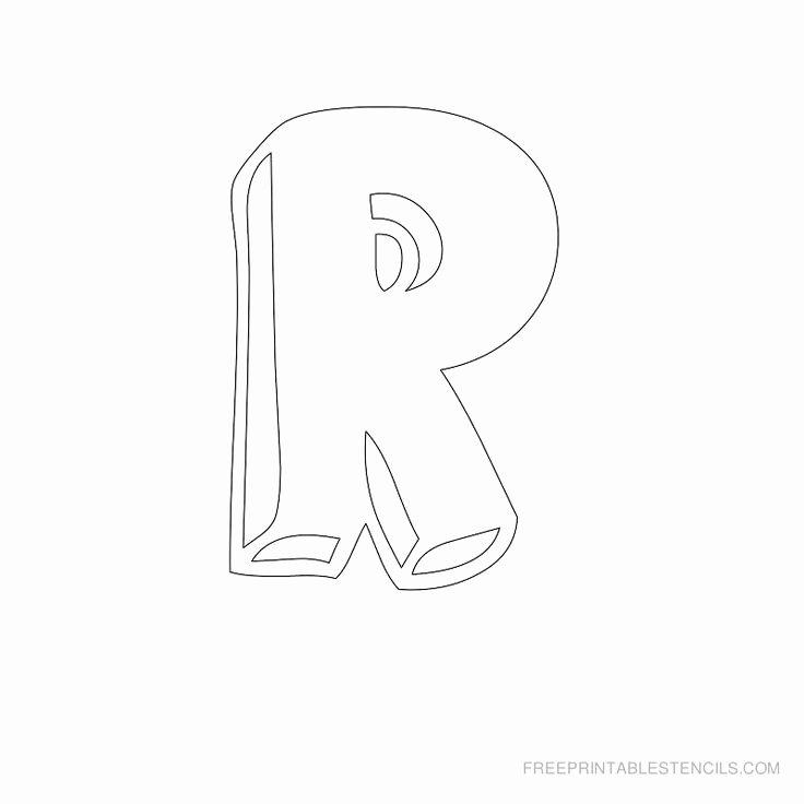Free Printable Alphabet Stencils Templates Beautiful Free Printable Letter Stencils