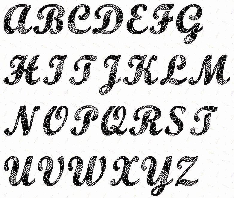 Free Printable Alphabet Stencils Templates Elegant Alphabet Script 4 Inch Stencil