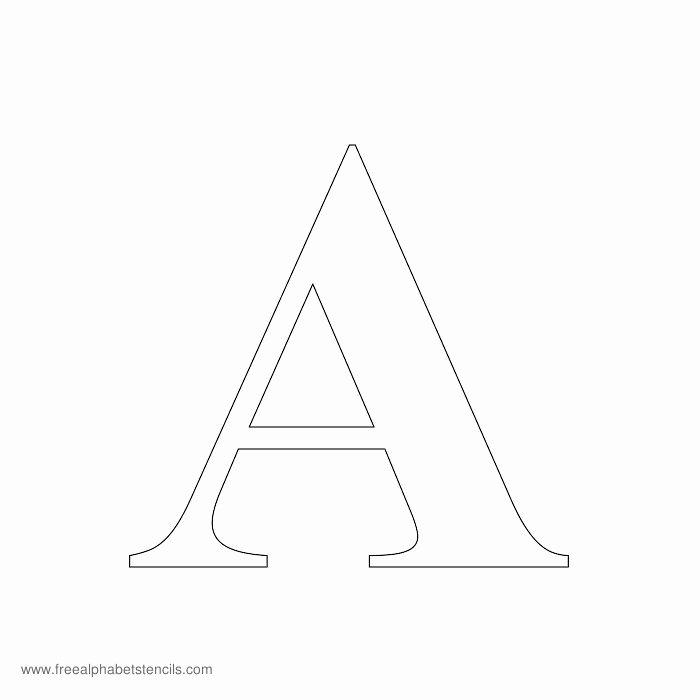 Free Printable Alphabet Stencils Templates Fresh Greek Alphabet Stencils