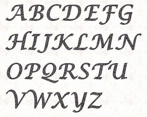 Free Printable Alphabet Stencils Templates Inspirational Alphabet Lucinda 3 Inch Stencil by Linleys Designs Craftsy