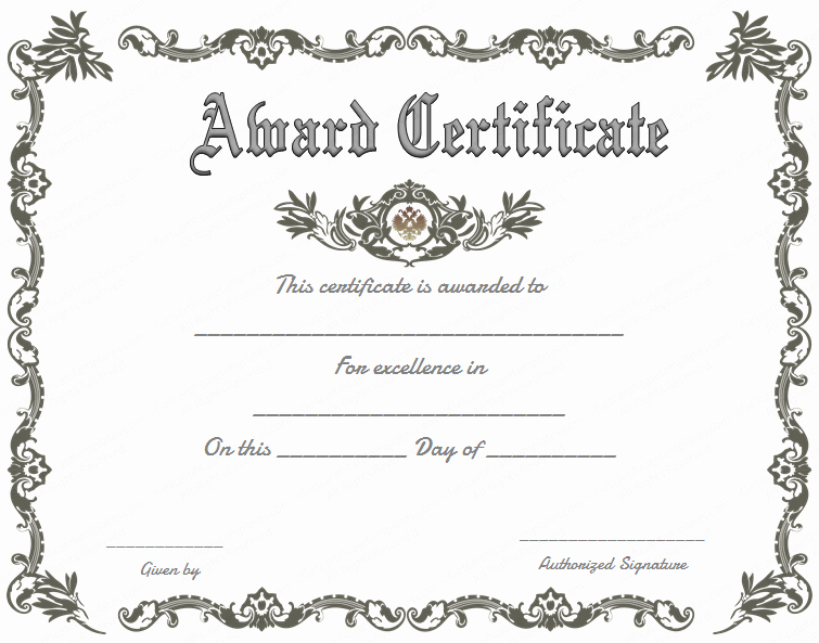 Free Printable Award Certificates Beautiful Free Printable Certificate Of Recognition Google Search