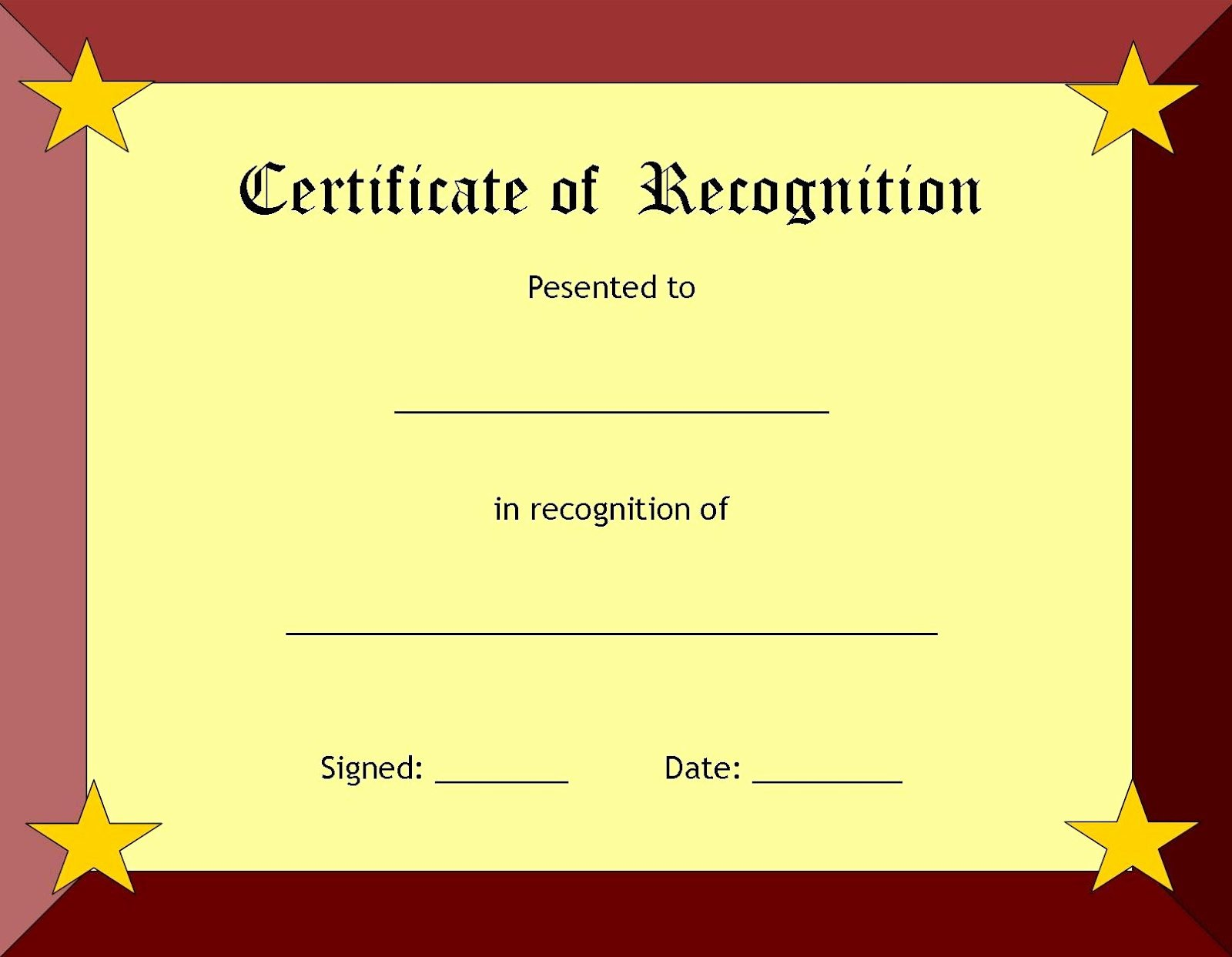 Free Printable Award Certificates Luxury A Collection Of Free Certificate Borders and Templates