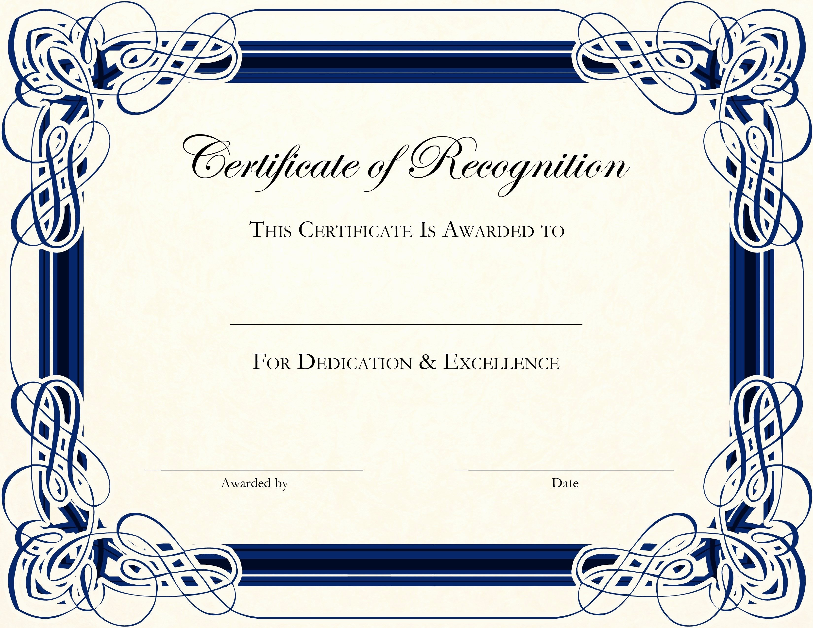 Free Printable Award Certificates Unique Free Printable Certificate Templates for Teachers