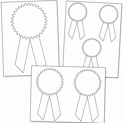 Free Printable Award Ribbons Elegant Printable Award Ribbons Classroom
