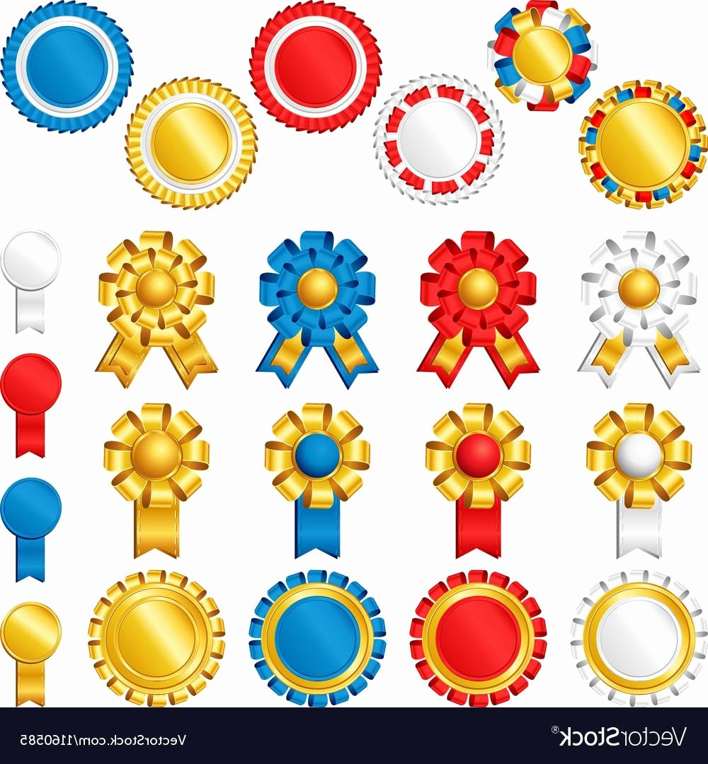 Free Printable Award Ribbons Unique Best Free Printable Medals for Awards Vector Free