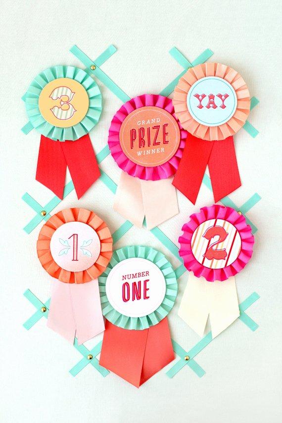 Free Printable Award Ribbons Unique Diy Prize Ribbon Printables