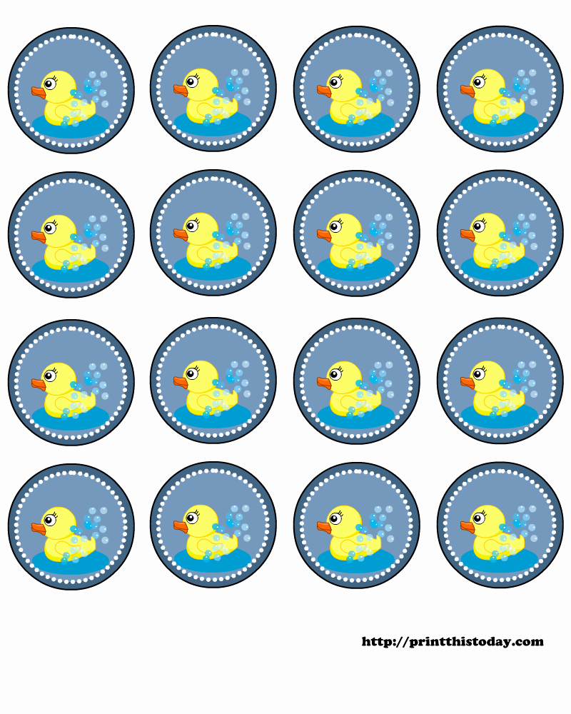 Free Printable Baby Shower Labels Best Of Free Baby Shower Labels with Cute Duck