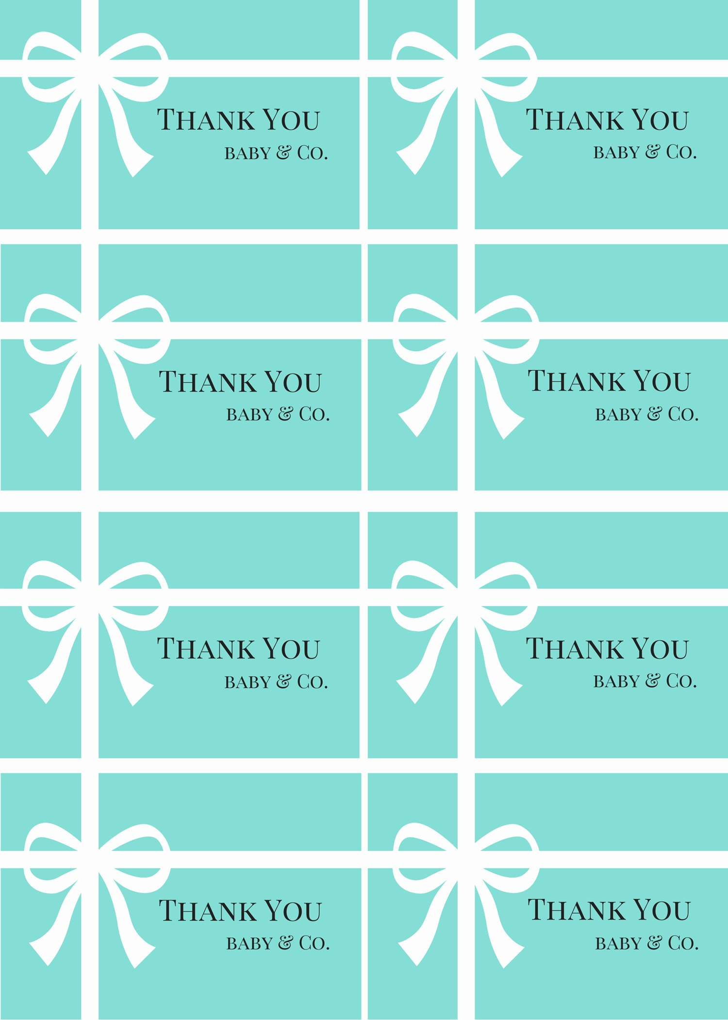 Free Printable Baby Shower Labels Fresh Free Tiffany Baby Shower Printable Baby Shower Ideas