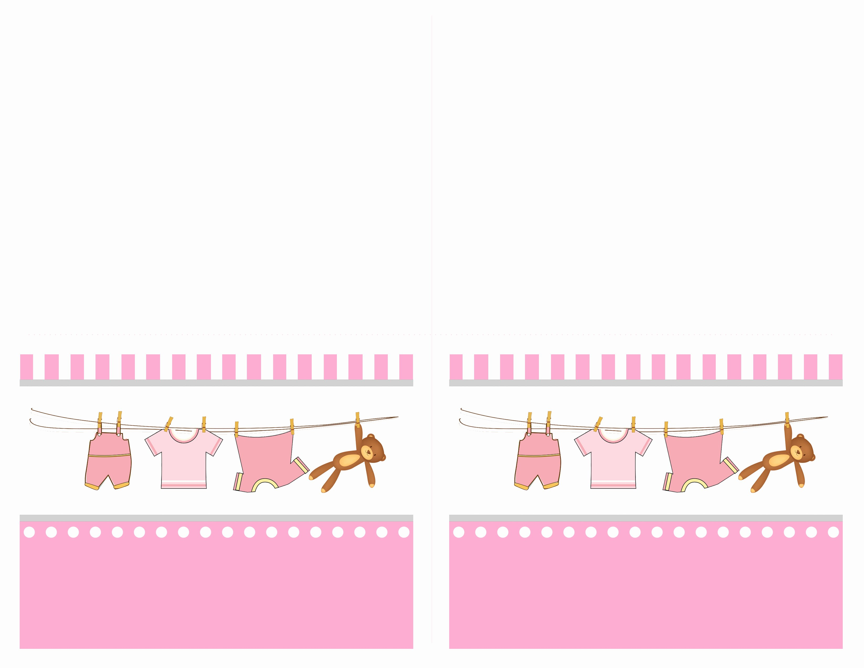 Free Printable Baby Shower Tags Beautiful Baby Girl Shower Free Printables How to Nest for Less™