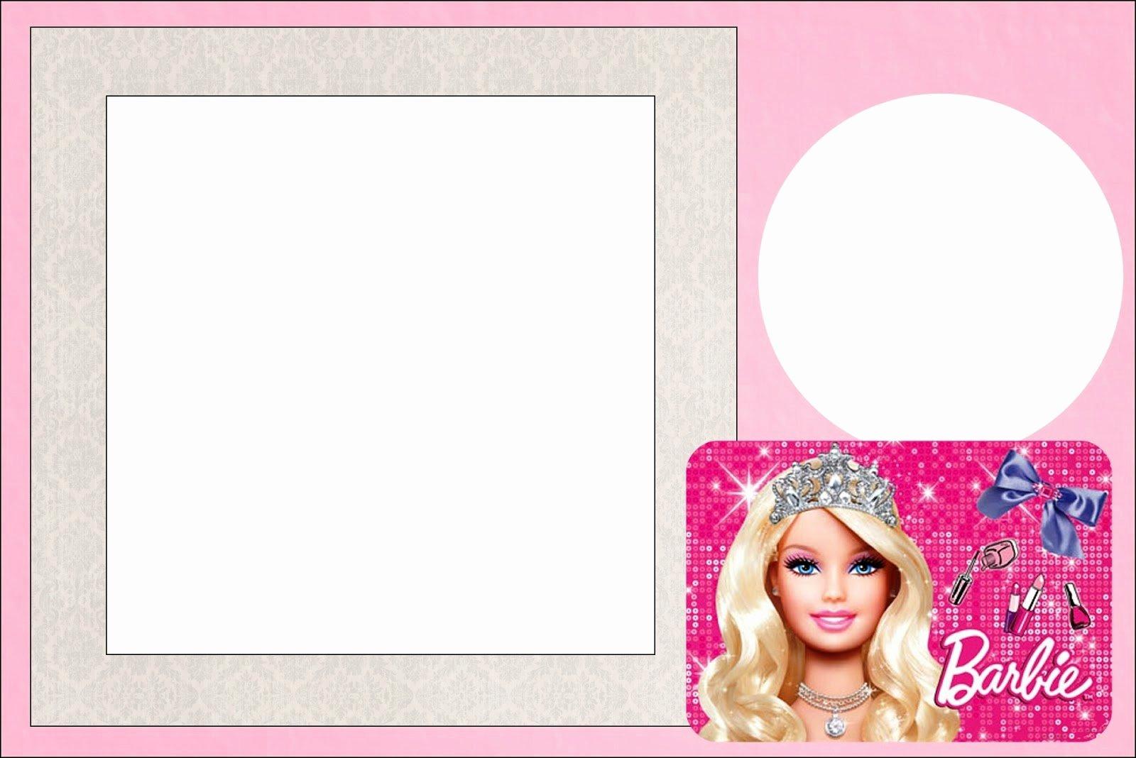 Free Printable Barbie Invitations Inspirational Barbie Life Style Free Printable Invitations