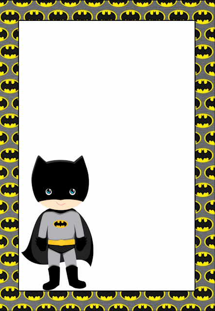 Free Printable Batman Invitations Awesome Free Printable Batman Invitations Cards or Labels Oh